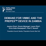 Demand for VMMC and the PrePex Device in Zambia