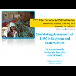 Stocktaking Assessment of EIMC in Southern and Eastern Africa