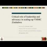 NcubeG_VMMC-Zimbabwe-Advocacy