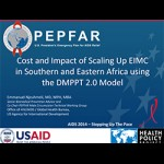 Cost and Impact of Scaling Up EIMC in Southern and Eastern Africa using the DMPPT 2.0 Model