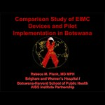 Comparison Study of EIMC Devices and Pilot Implementation in Botswana
