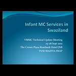 Infant Male Circumcision Services in Swaziland