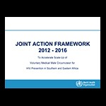 Joint Strategic Action Framework to Accelerate the Scale-Up of VMMC