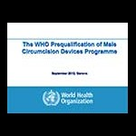 Prequalification of Devices for Male Circumcision