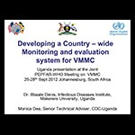 Developing a Country-wide Monitoring and evaluation system