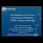 Thomas Development of Tools Monitoring