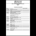 MC Quality Assurance Workshop Agenda