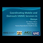 Mobile and outreach VMMC services