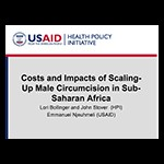 Costs and impacts of scaling up MC
