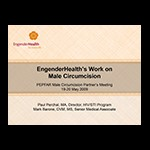 EngenderHealth's work on male circumcision