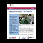 Engaging Local Media in VMMC Scale-Up