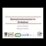 Neonatal circumcision in Zimbabwe