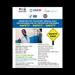 Priorities for Voluntary Medical Male Circumcision for HIV Prevention Programs: Safety — Safety — Safety: Flyer