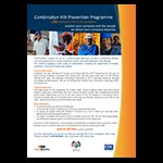 Combination HIV Prevention Programme: A Free Solution to HIV in the Workplace