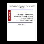 Guidance Document PEPFAR Technical Considerations
