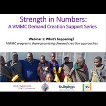 Strength in Numbers Webinar