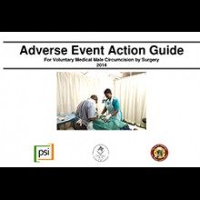 Adverse Event Action for Voluntary Medical male Circumcision by Surgery