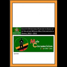 Country Operational Plan for the Scale-up of Voluntary Medical Male Circumcision in Zambia, 2012-2015